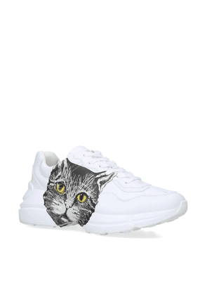 Gucci Rhyton Cat Sneakers