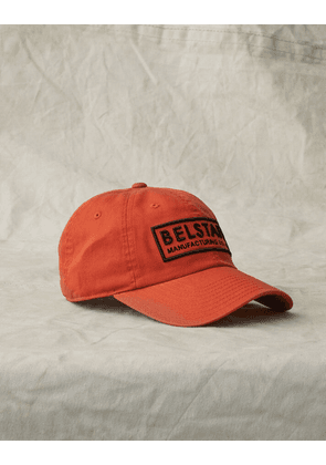 Belstaff BOX LOGO BASEBALL CAP Orange