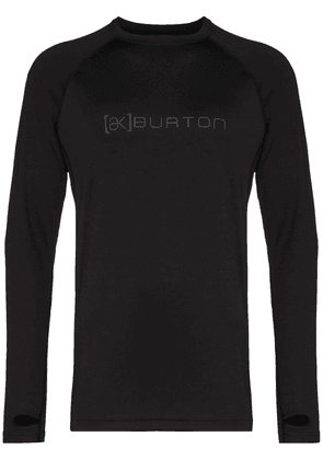 Burton AK Power Grid sports performance base layer top - Black