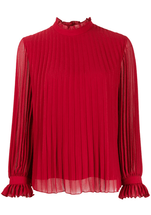 PS Paul Smith pleated design blouse - Red