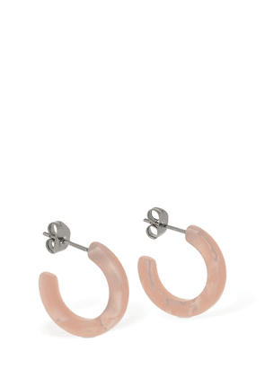 Anaïs Mini Acetate Hoop Earrings
