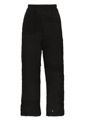 By Walid Jenny cropped trousers - Black