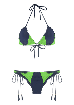 Brigitte Kate Pati duo bikini set - Blue