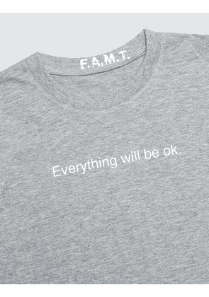 F.A.M.T. Kids' Everything Will Be Ok. Short-Sleeve T-Shirt