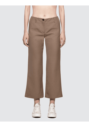 Aalto Slightly Flared Cropped Trousers
