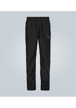 Slim-fit technical trackpants