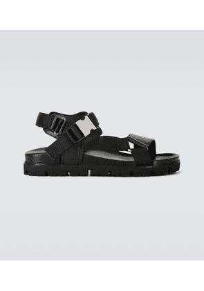 Leather strapped sandals
