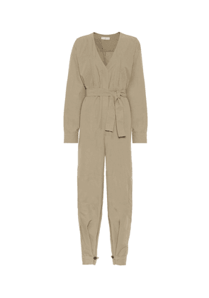 Cotton-blend jumpsuit