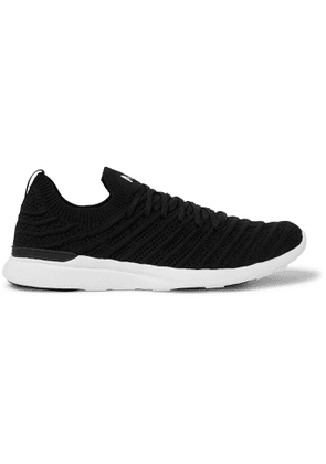 APL Athletic Propulsion Labs - Wave TechLoom Running Sneakers - Men - Black
