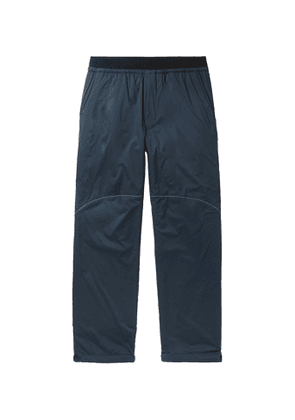 And Wander - Padded Polartec Alpha Shell Trousers - Blue