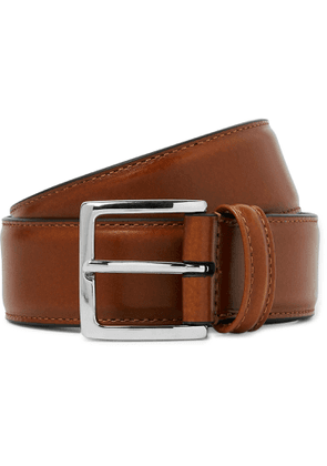 Anderson's - Tan 3.5cm Leather Belt - Brown