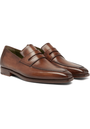 Berluti - Andy Leather Loafers - Brown