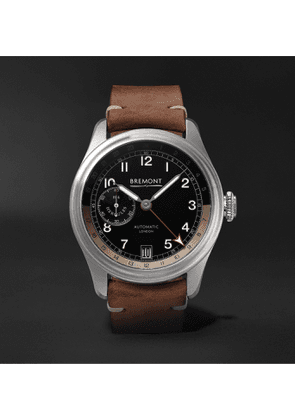 Bremont - H-4 Hercules Limited Edition Automatic 43mm Stainless Steel Watch, Ref. No. H-4 Le - Black