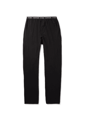 Calvin Klein Underwear - Stretch-Cotton Jersey Pyjama Trousers - Men - Black