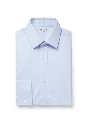 Charvet - Light-Blue Cotton Shirt - Men - Blue