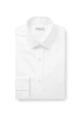Charvet - White Cotton-Satin Shirt - Men - White