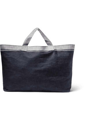 Cleverly Laundry - Two-Tone Denim Laundry Bag - Men - Blue
