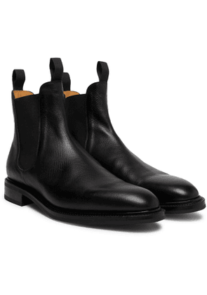 Edward Green - Newmarket Suede Chelsea Boots - Black