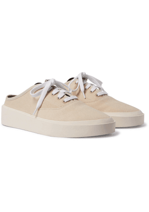 Fear of God - 101 Canvas Backless Sneakers - Men - Neutrals