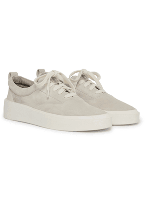Fear of God - 101 Leather-Trimmed Suede Sneakers - Men - Gray
