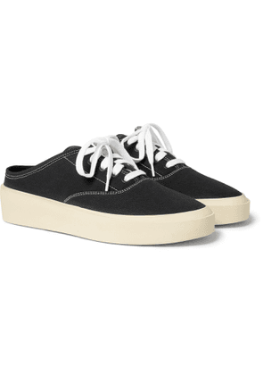 Fear of God - 101 Canvas Backless Sneakers - Men - Black
