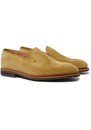 George Cleverley - Positano Patent-leather Loafers - Yellow