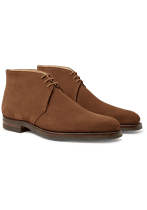 George Cleverley - Nathan Suede Chukka Boots - Brown