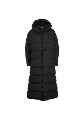 Bacon Big Cloud Black Quilted Shell Coat