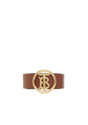 Burberry Monogram Motif Leather Bracelet
