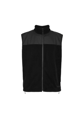 Rains Black Polar Fleece Gilet