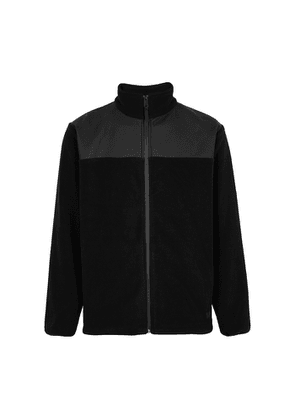Rains Black Polar Fleece Sweatshirt