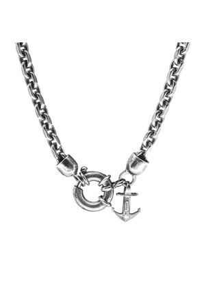 ANCHOR & CREW Salcombe Voyage Silver Necklace Pendant