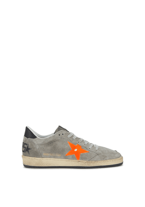 Golden Goose Deluxe Brand Ballstar Distressed Suede Sneakers