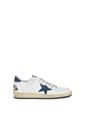 Golden Goose Deluxe Brand Ballstar Distressed Leather Sneakers
