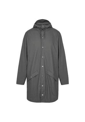 Rains Charcoal Rubberised Raincoat