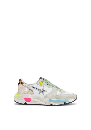 Golden Goose Deluxe Brand Running Sole Distressed Panelled Sneakers