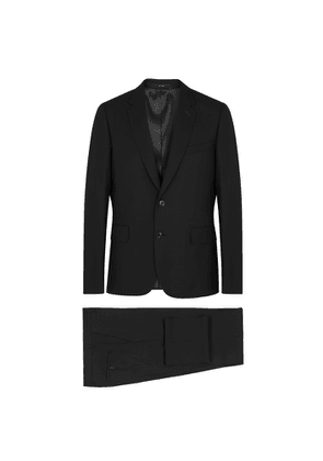 Paul Smith Soho Black Slim-fit Wool Suit