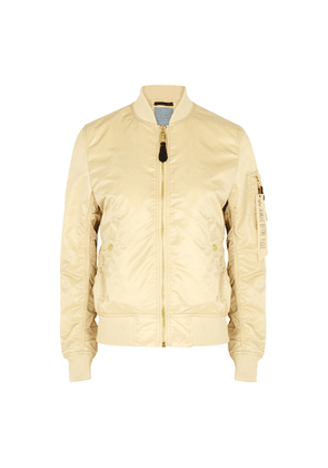 Alpha Industries MA-1 VF Sand Nylon Bomber Jacket