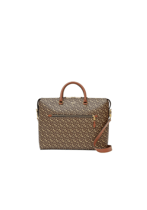 Burberry Monogram E-canvas Briefcase