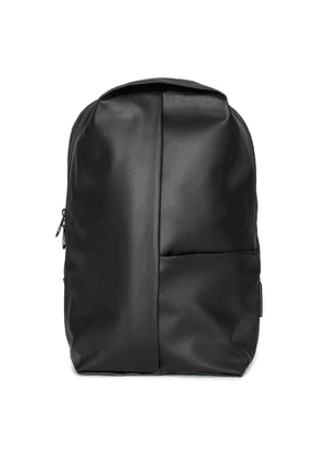 Côte & ciel Sormonne Black Coated Canvas Backpack
