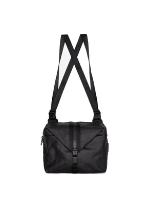Côte & ciel Yakima Black Coated Canvas Backpack