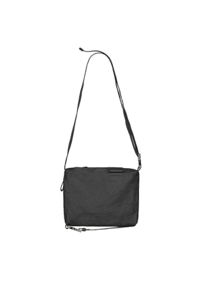 Côte & ciel Inn Small Black Coated Canvas Cross-body Bag