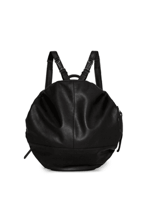 Côte & ciel Moselle Black Leather Backpack