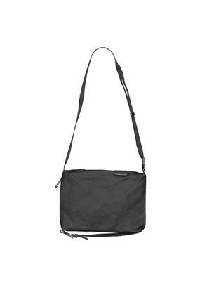Côte & ciel Inn Medium Black Coated Canvas Cross-body Bag