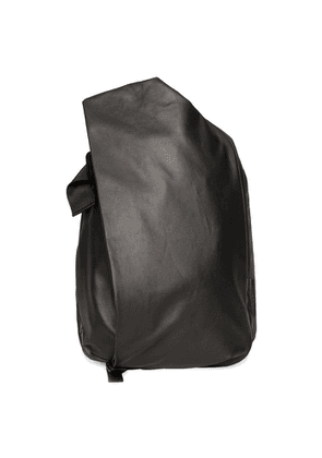 Côte & ciel Isar Medium Black Coated Canvas Backpack