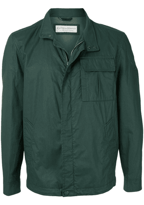 Gieves & Hawkes lightweight fitted jacket - Green