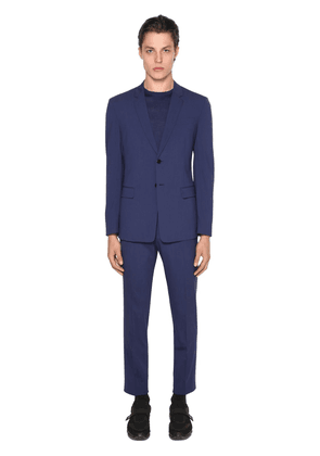 Deconstructive Bi-stretch Wool Suit