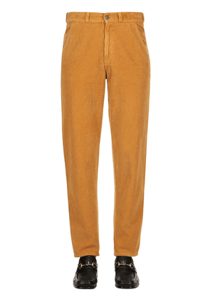 Washed Cotton Corduroy Pants