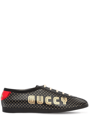 Falacer Guccy & Stars Leather Sneakers
