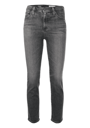 AG Jeans The Isabelle cropped jeans - Grey